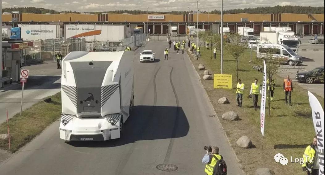 全球首例!瑞典无人驾驶卡车获批上路资格