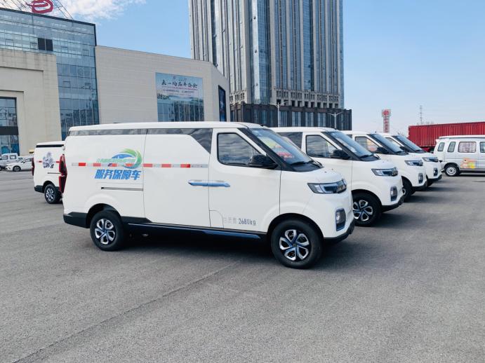 北汽新能源物流车1.0产品布局,已实现城间、同城、同域物流全覆盖