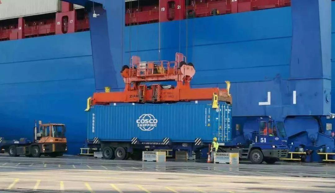 中远海运比雷埃夫斯港2019年集装箱吞吐量突破500万 TEU