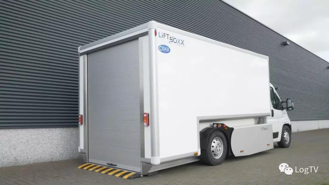 无需装卸尾板!可节约18%装卸时间的新型甩挂货车诞生