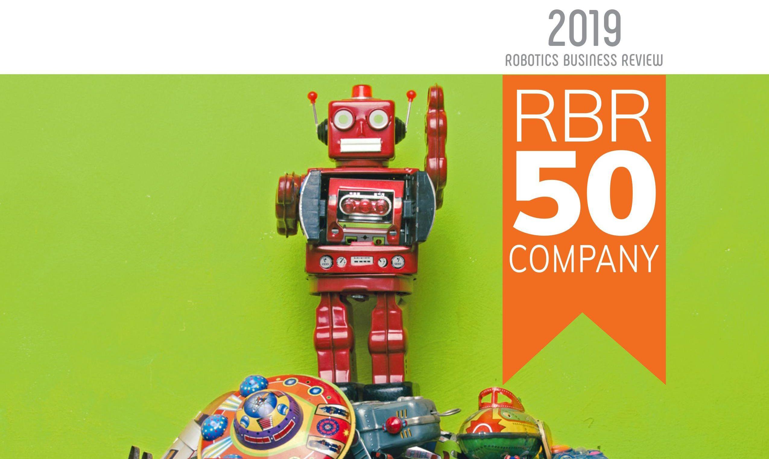 《机器人商业评论》2019年全球TOP50机器人公司完整报告(内附下载)
