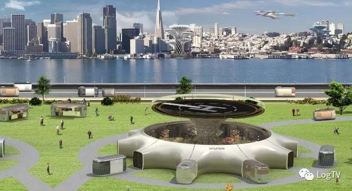 现代汽车展示空中出行解决方案,可能颠覆物流业