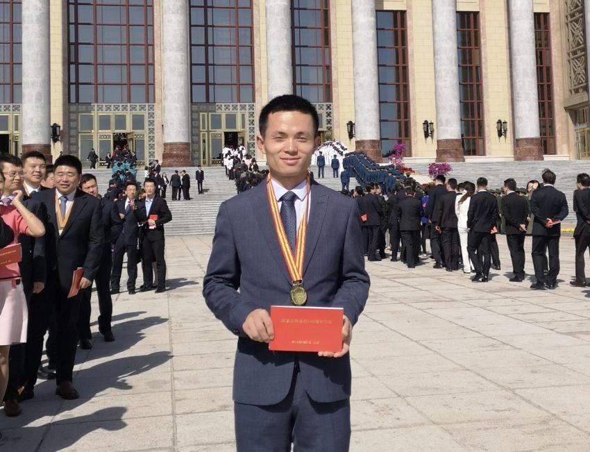 京东小哥获北京青年五四奖章:6年送货28万余件,两次救人于危难