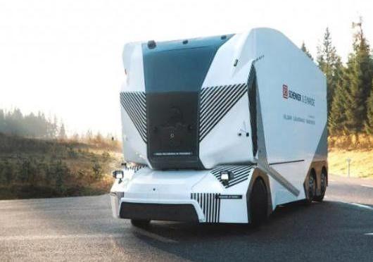 """""""寒流""""已悄悄杀近:第一台可上路的自动驾驶卡车下月上路"""