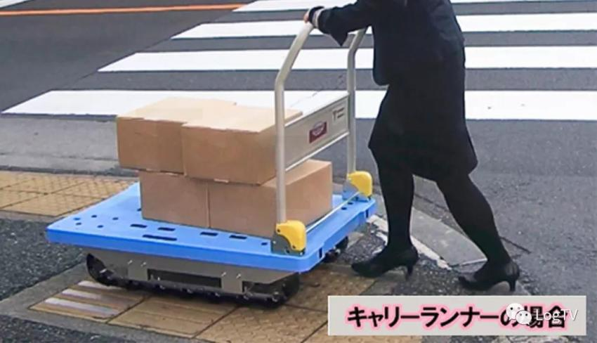日本手推车神车!不溜坡、不怕颠、履带式车轮,运鸡蛋都不碎!