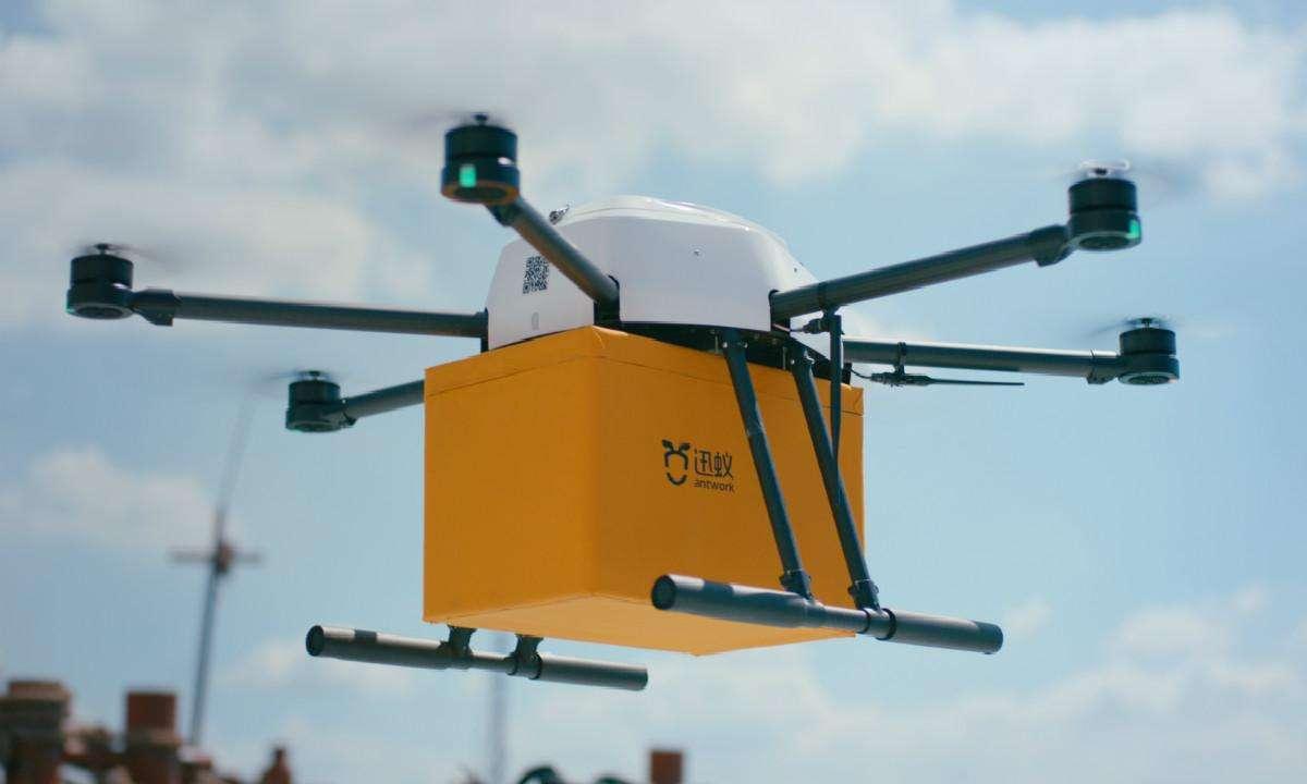 無人機送貨的中國方案亮相ADW,迅蟻讓歐洲同行提前看到未來
