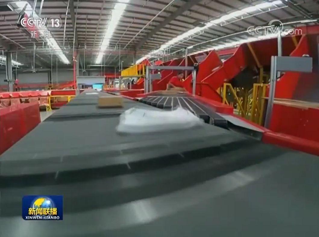 《新闻联播》聚焦中国快递高速发展,荧幕上的中国邮政真靓!
