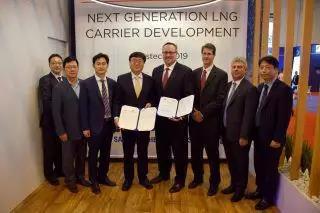三星重工与美国船级社联合开发新一代LNG运输船丨航运界