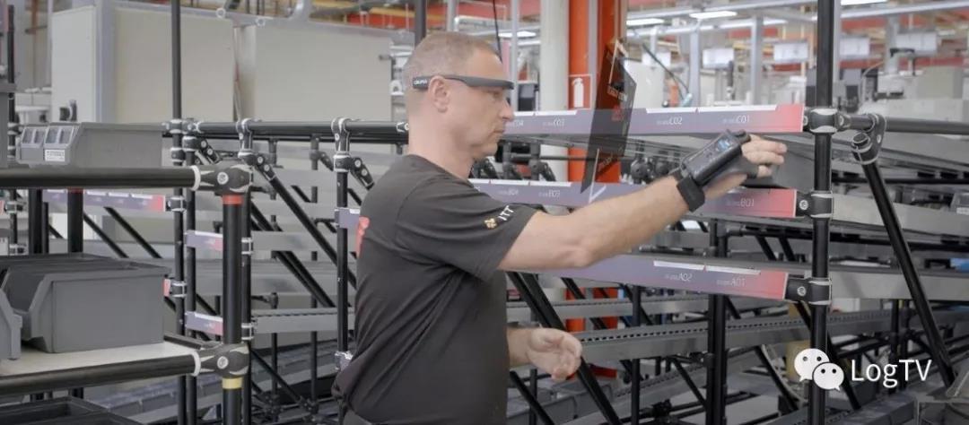 AR眼镜+手套式扫描仪如何让分拣准确度达到99.9%?