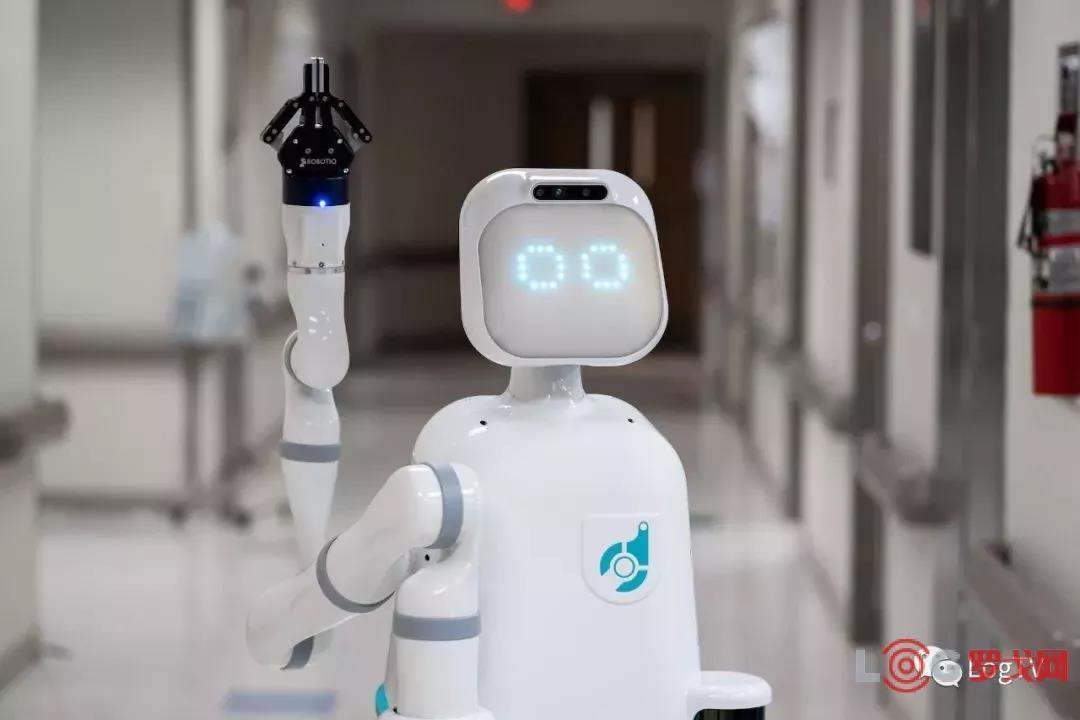 醫院全程自動化物流機器人上線,降低護士30%的工作量