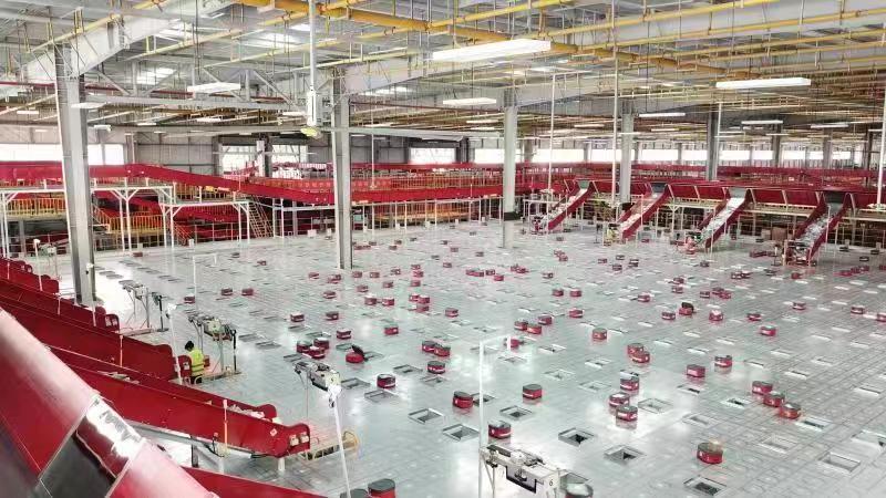 11.11京东全国最大规模机器人仓群投用,无人仓超过50个