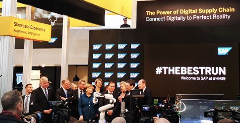 2019汉诺威工博会现场报道之一:如何实现端到端的工业互联网业务整合
