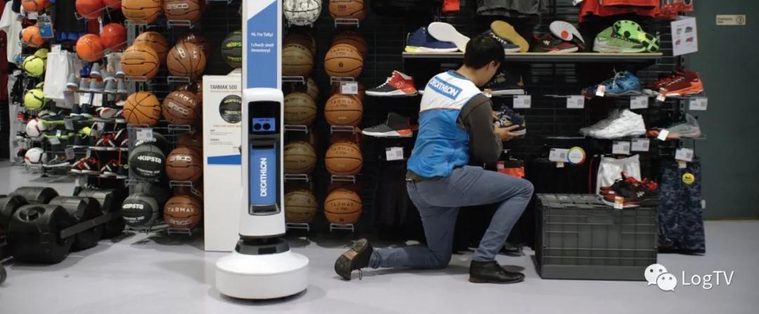 视觉+感知:全球第一台门店全自动库存管理机器人在迪卡侬