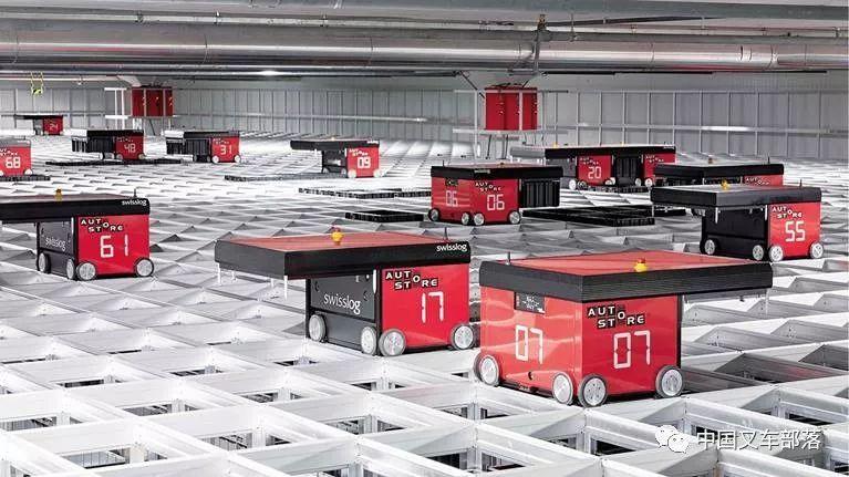 活跃在物流领域30大机器人公司