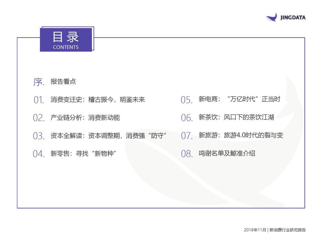 2019年中國新消費研究報告