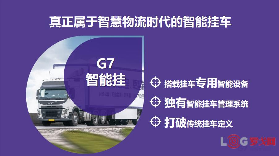 2018物流创新企业——G7