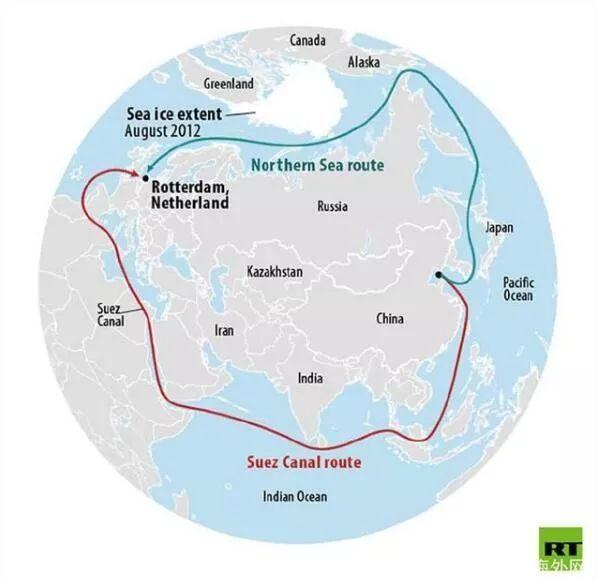降低40%成本!俄罗斯打造北极运输线 中国是最大客户?