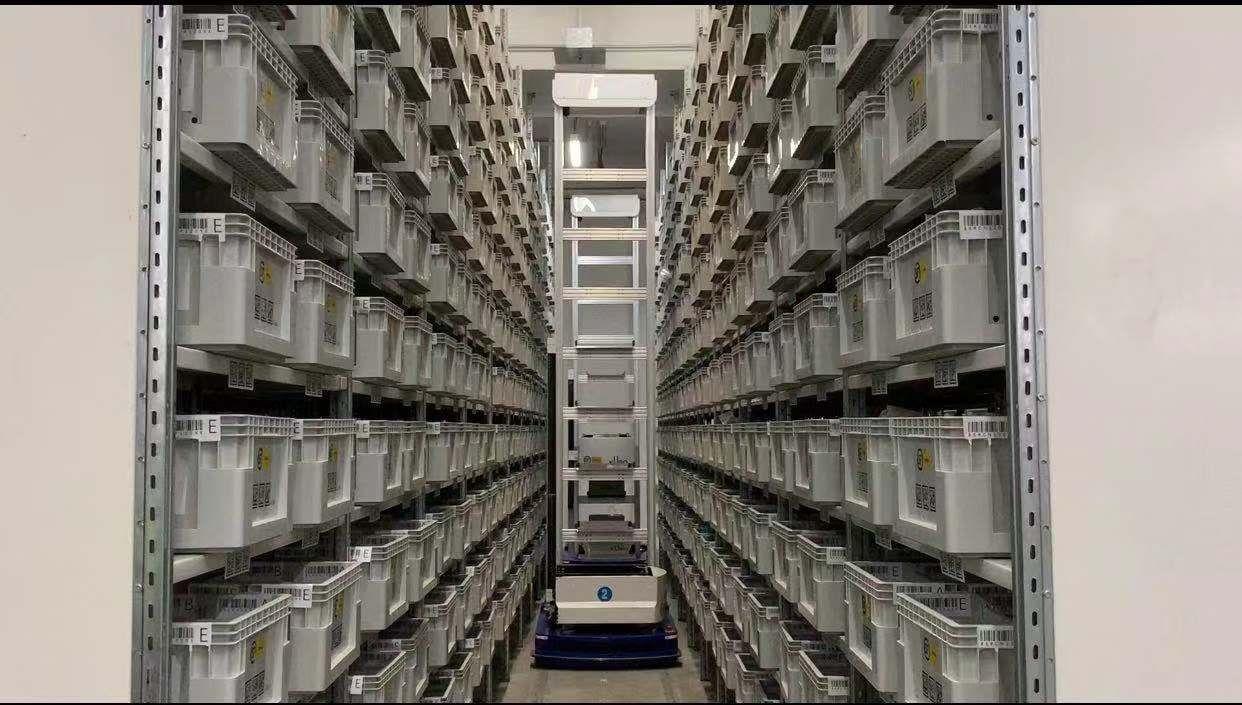 又一料箱到人項目在順豐DHL零售融合倉庫落地!