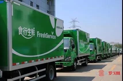 全国城乡高效配送典型案例——苏州食行生鲜电子商务有限公司
