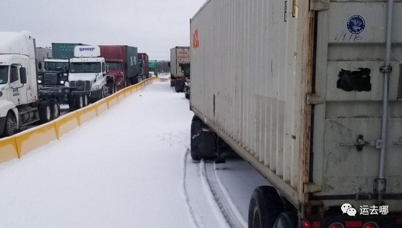 堵!堵!堵!强烈寒流袭击美国中西部!集装箱拥堵情况继续恶化!