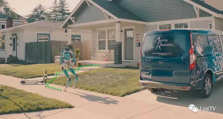 全球首个人形机器人搬货到家!福特自动化物流场景太酷了!