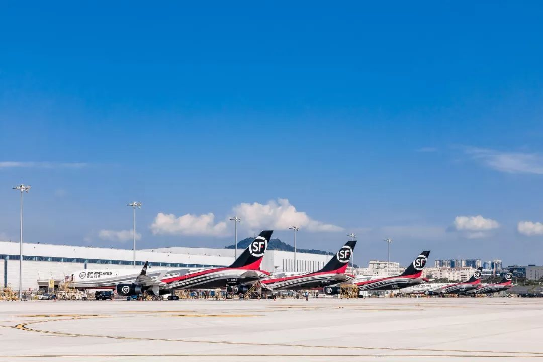 顺丰航空第57架全货机入列 ,757机型突破30架