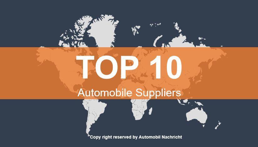 2019 全球汽车零部件企业TOP 10