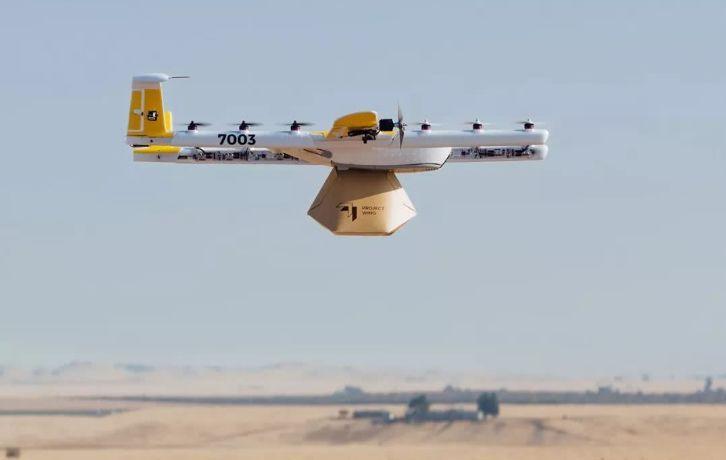 下单送达最快5分钟,澳洲吃货率先吃上无人机送的外卖