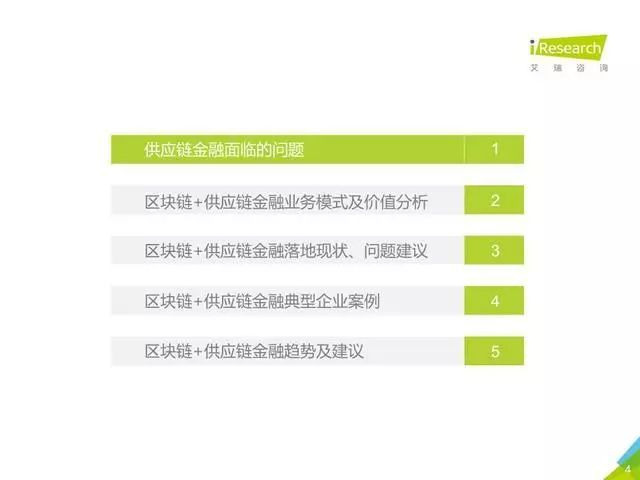 区块链+供应链金融行业研究报告(附下载)