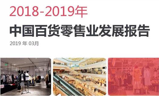 2018-2019年度中国百货零售业发展报告