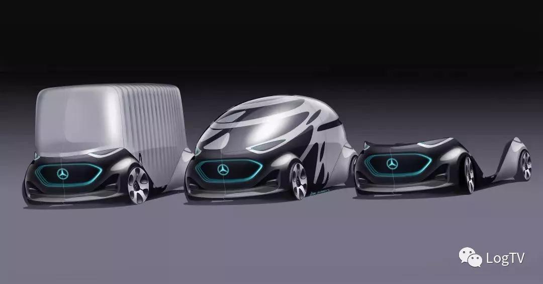 乘用+货运,奔驰发布未来汽车终极设想