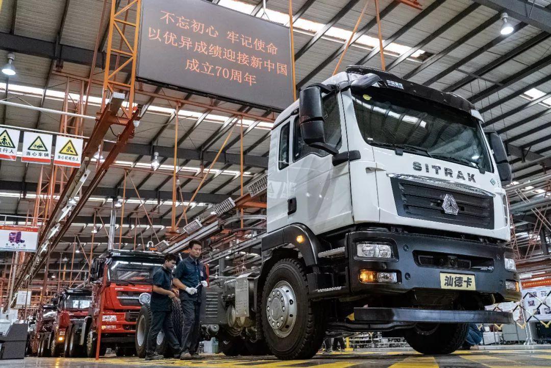 共和國發展成就巡禮 探訪亞洲最長重型汽車裝配線