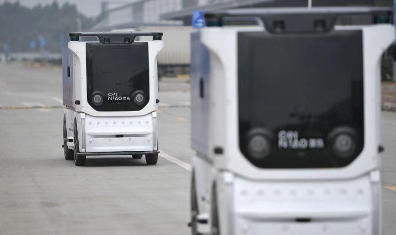 菜鸟物联网战略引领行业数字化升级 国内首个无人车未来园区落户成都