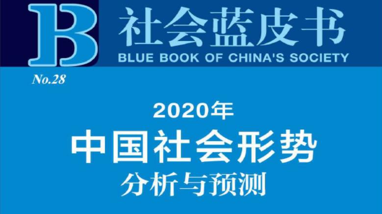 社会蓝皮书:2020中国社会形势分析与预测(附下载)