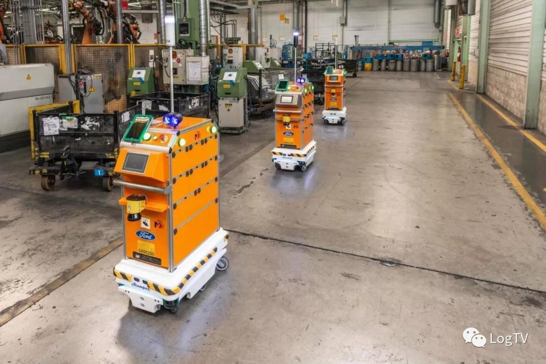 福特汽車最新生產物流機器人曝光:解放人力+提高產能+重新梳理生產分工