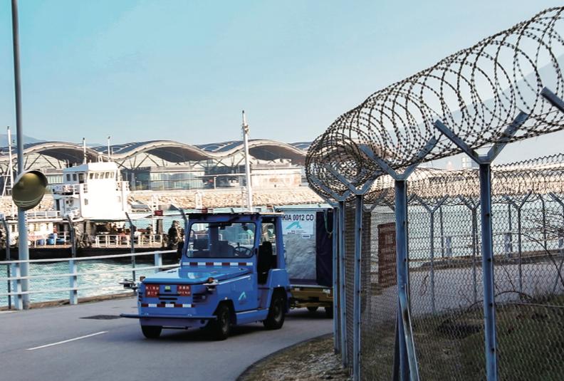 全球首個機場行李運輸無人物流車項目落地香港