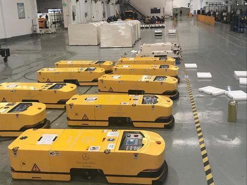 "AGV已经成为有望实现真正""国产化""的工业机器人先行者"
