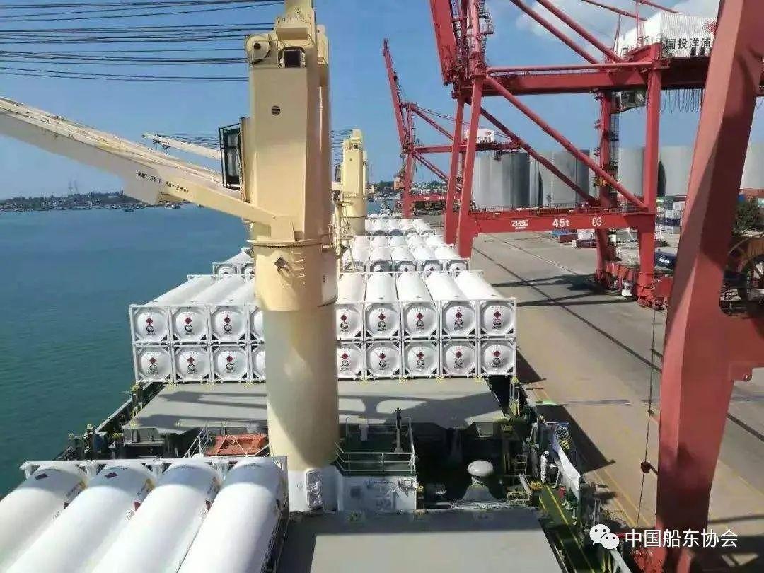 《整船载运液化天然气可移动罐柜安全运输要求(试行)》正式印发