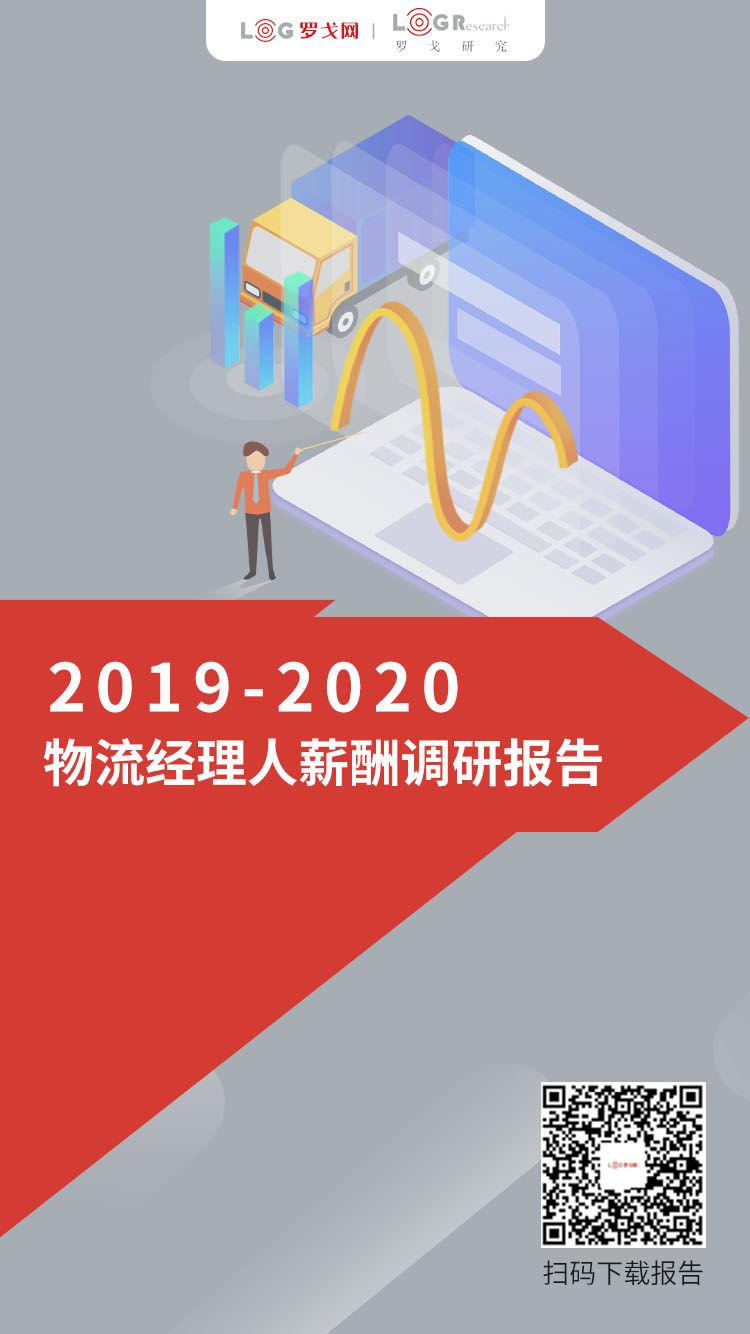 2019-2020物流经理人薪酬调研报告
