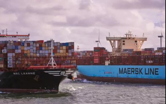 地中海航运将接过马士基的皇冠,成为全球最大的集装箱航运公司