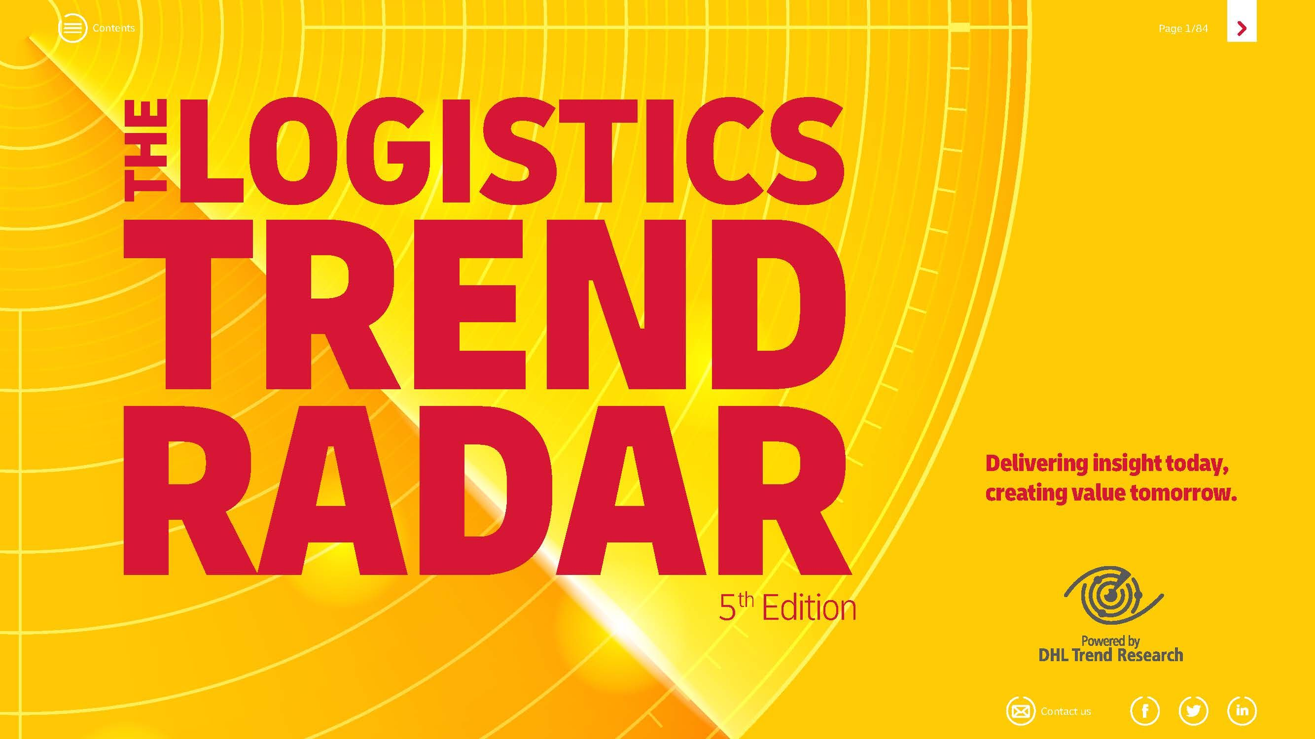 2020物流趋势报告DHL The logistics trend radar-5thedition(附下载)