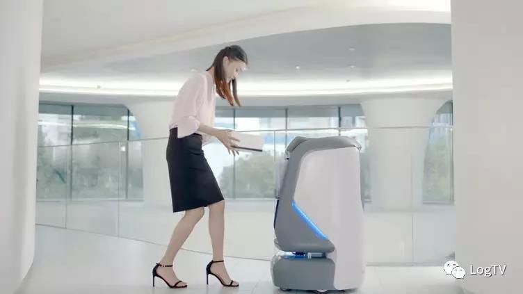 国内首个机器人群组建的无人配送站!末端配送七大环节全自动!