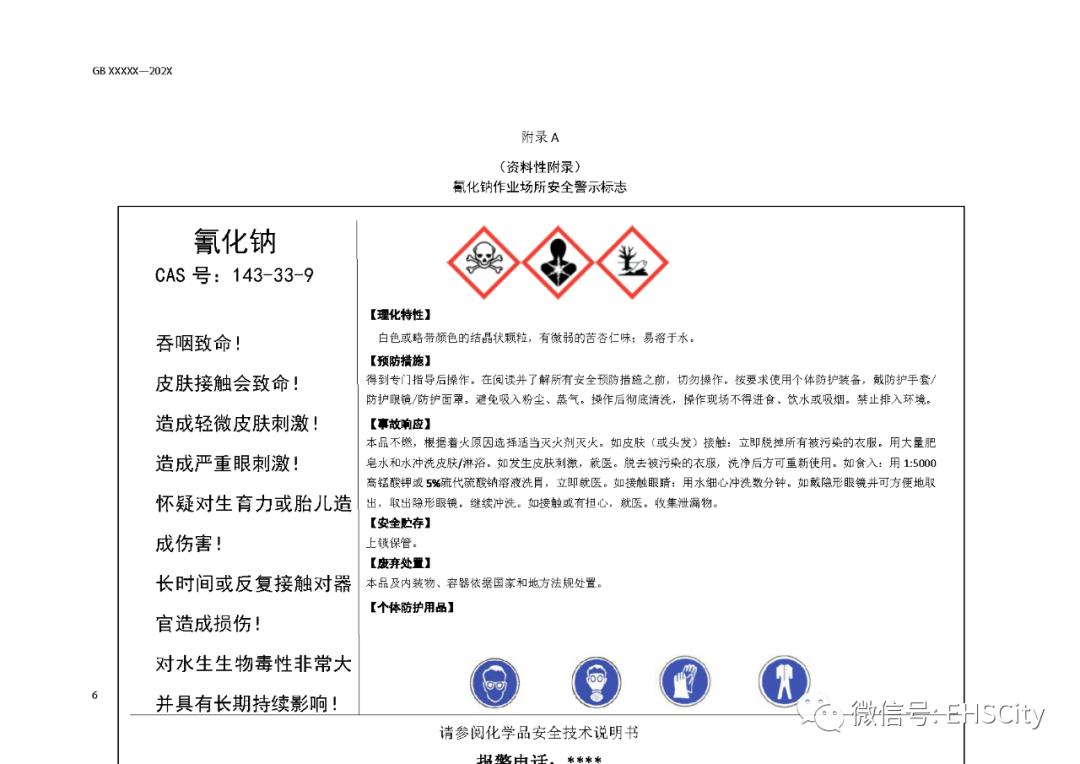 《氰化物安全生产管理规范(征求意见稿)》发布
