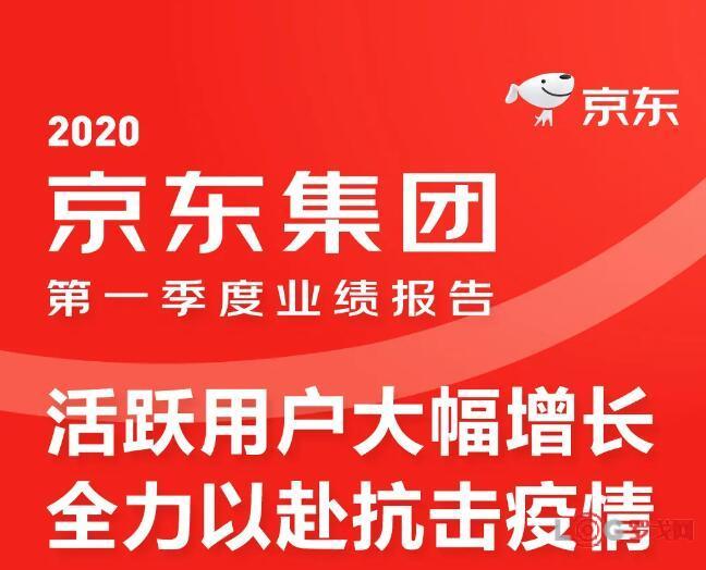 一张图看懂京东集团2020年第一季度业绩报告:活跃用户大幅增长,全力以赴抗击疫情