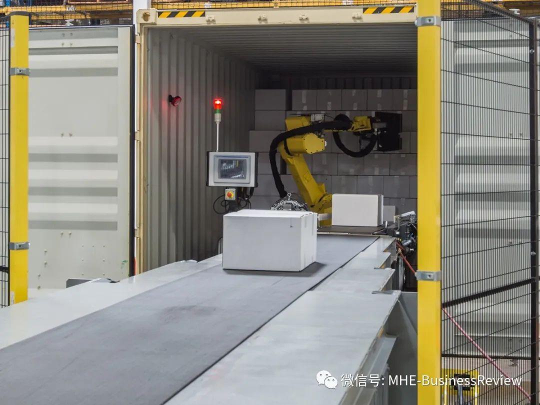 对于仓库机器人而言,月台是最后一块堡垒