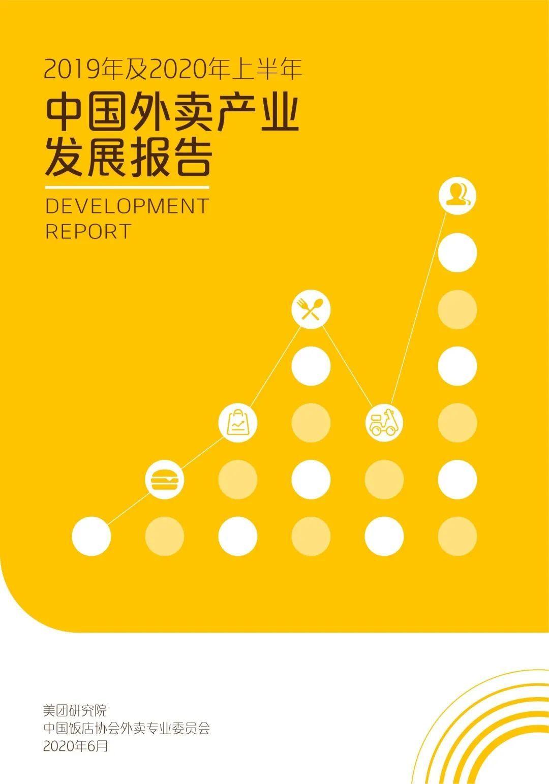 2019年及2020年上半年中国外卖产业发展报告(附下载)
