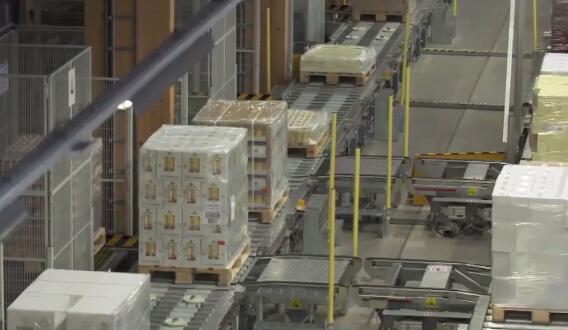 世界上最大的木制自動化立體庫