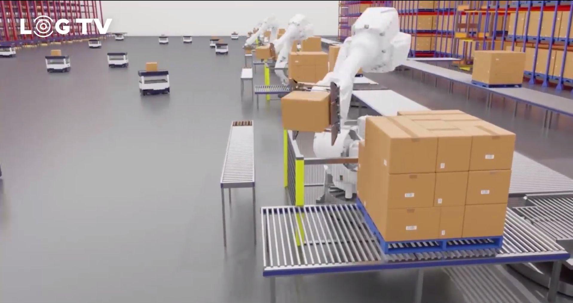 未來倉庫:裝卸、存取、揀貨全流程自動化
