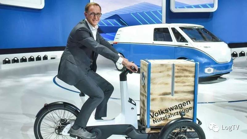 """疯了!大众要量产""""货运自行车"""",用于最后一公里配送(一)"""