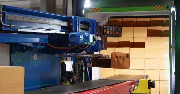 800件/小时,DHL英国仓库引进自动化卸货系统